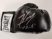 """FELIX VERDEJO Signed """"El Diamante"""" Everlast Boxing Glove (B) ~ Beckett BAS COA"""
