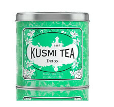 Kusmi Tea Paris - ❤ Premium Luxury Teas - DETOX - 250gr / 8.80oz Tin Loose Leaf