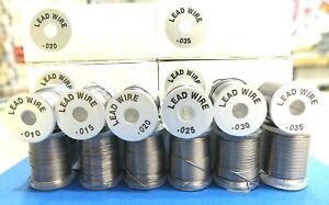 Bleidraht gespult 6 Durchmesser UTC Wapsi Ø 0,25 - Ø 0,88 mm Spooled Lead Wire