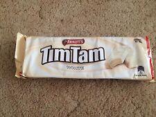 24x ARNOTT'S TIM TAM  WHITE 185g Australian made *UPS FAST SHIPPING *