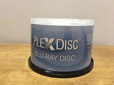 PlexDisc 633-214 25 GB 6x Blu-Ray White Inkjet Imprimible Huso
