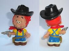 Figurine ancienne PVC Schleich Boule et Bill Schnieff Cowboy Roba 70mm