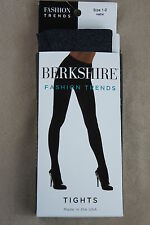 Berkshire Hosiery Sz 1 - 2 Heather Gray Fashion Trends Tights Style # 4045
