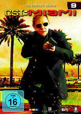 6 DVDs * CSI : MIAMI - KOMPLETTE STAFFEL / SEASON 9 # NEU OVP §