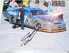Cingular #31 car photo autographed Jeff Burton