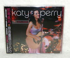 Katy Perry MTV Unplugged Live 2009 Taiwan CD+DVD w/OBI