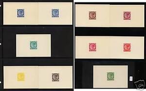 Prince Edward Island Victoria color die proofs   reprints