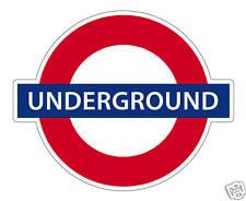 STICKER MURAL 60 x 50 cm - Underground London