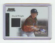 2004 BOWMAN STERLING DAVID WRIGHT AUTO JERSEY - NY METS