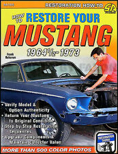 How to Restore your Mustang 1973 1972 1971 1970 1969 1968 1967 1966 1965 1964