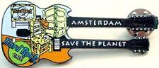 Hard Rock Cafe AMSTERDAM 2000 Van Gogh DN GUITAR PIN Black Base Metal - HRC #221