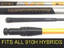Titleist V2 910H UST HYBRID REGULAR GRAPHITE SHAFT+TIP Adapter fit 3/19 + 4/21