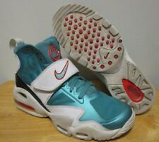 """RARE 2012 Nike Air Max Express """"Miami Dolphins"""" Men's Turf Training Shoes size 9"""