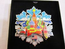 "FAZZINO TWO 2014 OLYMPIC PINS ""CELEBRATE SOCHI""/""GO USA"" BEAUTIFUL PINS! 3D! NIB"