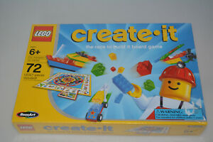 RARE SEALED Lego Creator Create-It The Race To Build Board Game 03093 NOS 1999