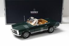 1:18 Norev Mercedes 230SL (W113) Pagode Moos green NEW bei PREMIUM-MODELCARS