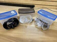 3 Scuba Snorkeling Masks / Oceanic Shadow / Sherwood Rona / Oceanic Cyanea