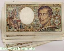 BILLET 200 FRANCS MONTESQUIEU X1
