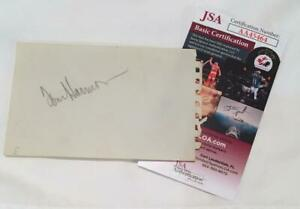 Tom Harmon Michigan Heisman Winner Signed / Autographed Album Page - JSA COA