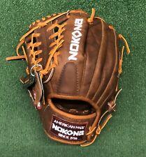 """Nokona Walnut 11.5"""" Left Hand Throw Pitchers Baseball Glove W-1150"""