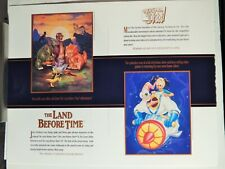 Earthworm Jim/ Tremors 2/ Land Before Time/Clocker(1990S Video Dealer Brochure)