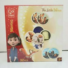 Hape The Little Prince Classic Memory Matching Game 32 Pieces Ages 3+ New Sealed