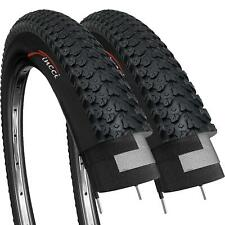 Fincci Pair 26 x 2.125 Inch 57-559 Tyres for MTB Mountain Hybrid Bike Bicycle