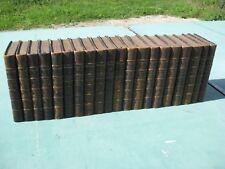 Honoré de Balzac oeuvre complète XIXe - 20 volumes  1855 - ex libris Paul Lecène