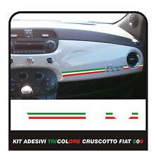 Adesivo per FIAT 500 ABARTH CRUSCOTTO Italia FIAT 500 plancia tricolore tuning