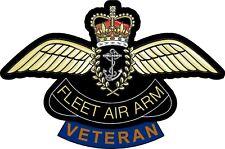 FLEET AIR ARM VETERAN STICKER UK - CARS - VANS - LAPTOPS