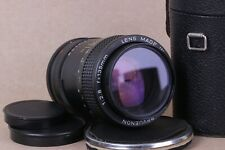 lens REVUENON 135mm f 2.8 M42 screw mount telephoto for Pentax Fujica Praktica