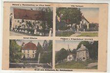 Gruss aus Költschen Reichenbach Schlesien Bäckerei Henkel 1927
