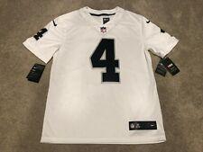 Nike NEW VAPOR Derek Carr Oakland Raiders NFL Jersey NWT Mens M Jersey Limited