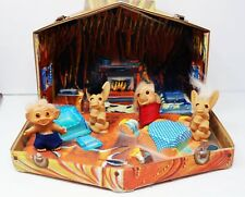 60s Pop Culture 4 Wishniks Dolls Dated 1964 Troll House As Is As Found Estate
