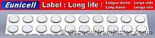 Lot 20 Piles AG13 LR44 G13-A D303 L1154 L1154F EPX76 A