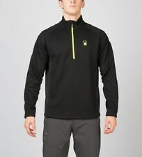 SPYDER  MEN'S OUTBOUND HALF ZIP CORE MID WT CORE SWEATER  SIZE SMALL