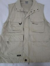 Columbia Titanium Men's Fishing Hiking Photography Vest Beige Size M