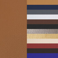 """1/5/10 Yards Faux Leather Fabric Boat Outdoor Upholstery Marine Vinyl 54"""" Wide"""