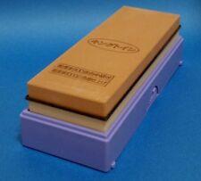 Japanese Whetstone Sharpening Stone KING PB-04 Dual Combi  #800/#6000 from Japan