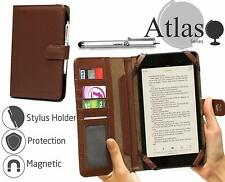 Navitech Brown Book Case For Samsung P1000 Galaxy Tab NEW