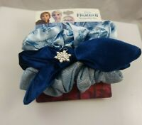 Disney Frozen 2 scrunchies snowflake  shades of blues