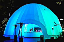 25x25 625 sqft Commercial Inflatable Igloo Tent  Structure Event Dome Marketing