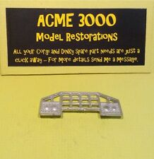 Corgi 1154 Mack Priestman Crane Truck Reproduction Repro - White Metal Nudge Bar