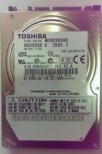"Toshiba laptop internal hard disk drive 80gb SATA MK8032GSX 5400rpm 2.5"" hdd x10"