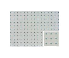 Dollhouse Miniature Floor Blue and White Vinyl 1:12 Scale