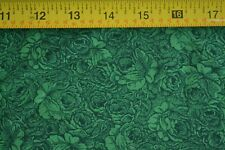 By 1/2 Yd, Green on Green Quilting Cotton, RJR/Jinny Beyer Palette/3302-4, B753