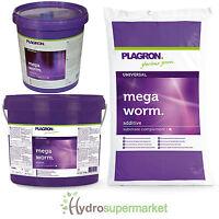 PLAGRON ORGANIC WORM HUMUS CASTINGS MEGA WORM 1L, 5L, 25L SOIL IMPROVER