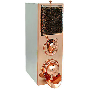 Coffee Beans Dispenser with Scoop (Copper)