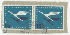 Germany SC# C63 Used Pair on piece