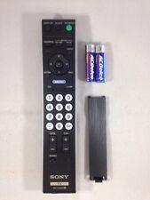 Genuine Sony RM-YD025  Bravia TV Remote Control Tested w/Battery SN93